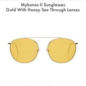 Illesteva, Mykonos ll Yellow Sunglasses